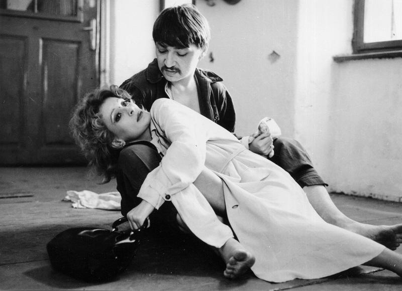 """""""Schatten der Engel"""" BRD/CH 1975/1976 Rainer Werner Fassbinder, Ingrid Caven"""