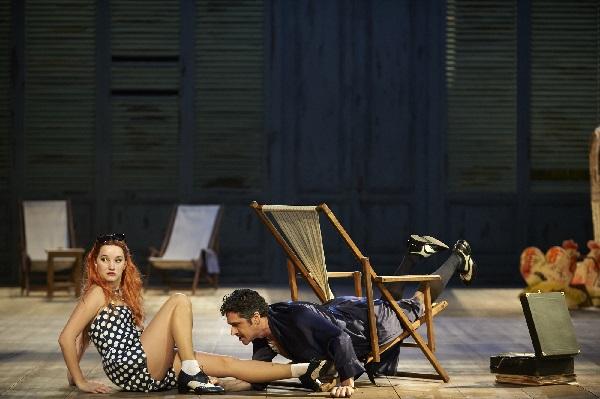le nozze di figaro, Anna Prohaska, Ildebrando  D'Arcangelo, Foto Klärchen und Matthias Baus