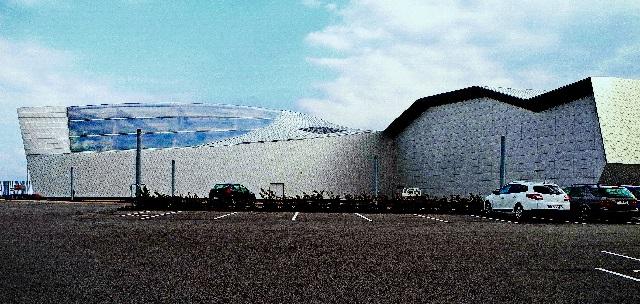 Aquarium, der blaue Planet,  2013 von 3XN Architekten