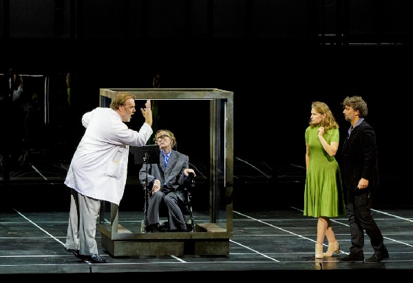 Szene mit Stephen Hawkins: Kaufmann - Koch - Mercy
