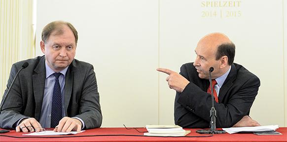 Thomas Platzer, Dominique Mayer. Foto: ORF