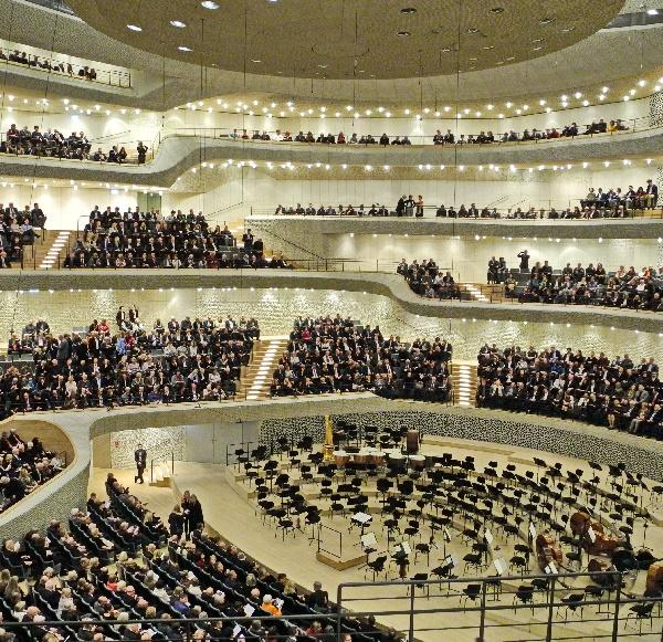 Der Große Saal vor Konzertbeginn, Ausschnitt, Foto Ursula Wiegand