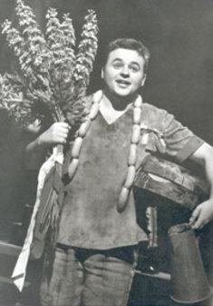 Erwin WOHLFAHRT als David in bayreuth