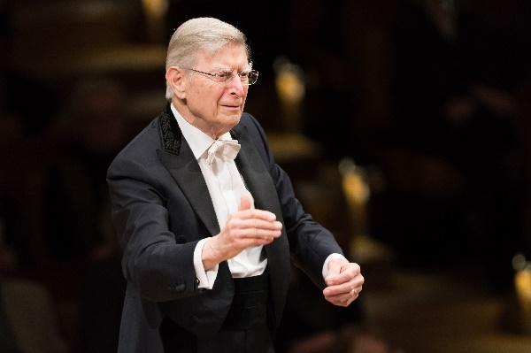 Herbert Blomstedt, Foto Peter Adamik