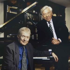 Ralph Kohn mit Graham Johnson