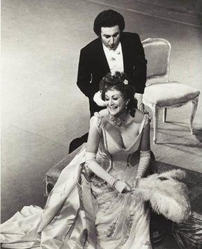 Sonja POOT als Traviata mit Vittorio Terranova