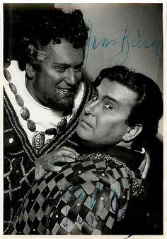Tomislav Nerlaic als Jago und Hans Beirer als Otello