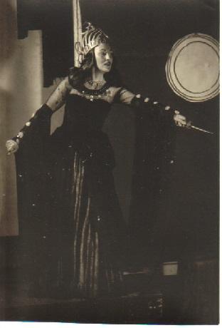 Claire Fassbender-Luz als Königin der Nacht