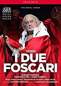 DVD Cover  I Due Foscari