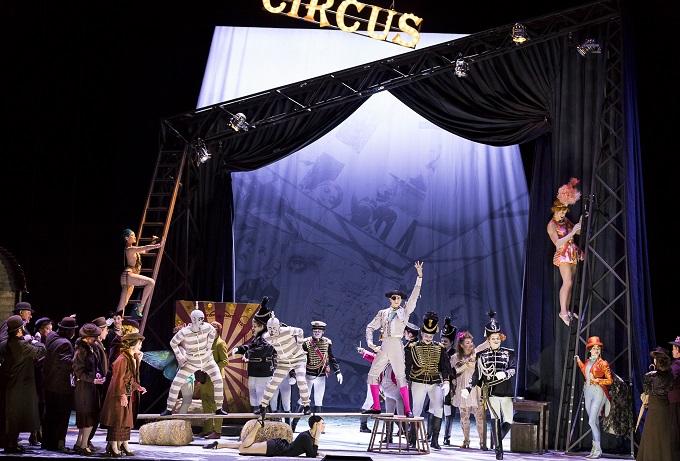 Operette mit Zirkusathmosphäre Foto: Werner Kmetitsch - Oper Graz