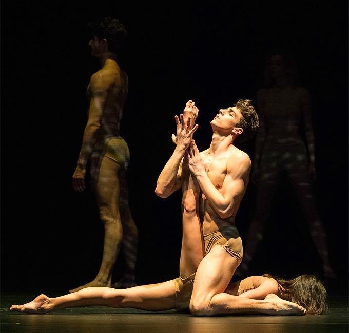 John Neumeiers 'Le Sacre': Rebecca Horner und Francesco Costa © Wiener Staatsballett/Ashley Taylor