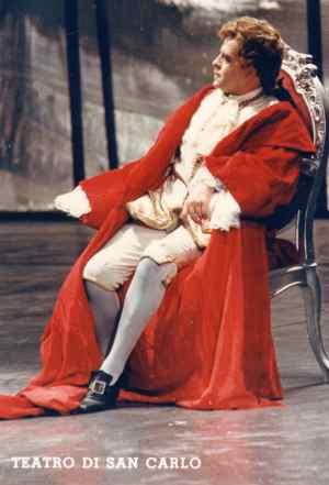 Alberto Cupido als Rioccardo im Maskenball