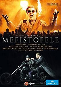 DVD Cover  Mefistofele