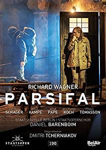 DVD Cover  Parsifal