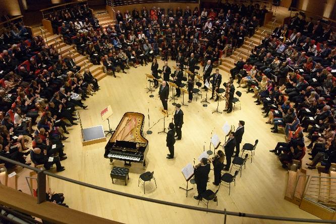Eröffnungskonzert, Pierre Boulez Saal, Foto Peter Adamik