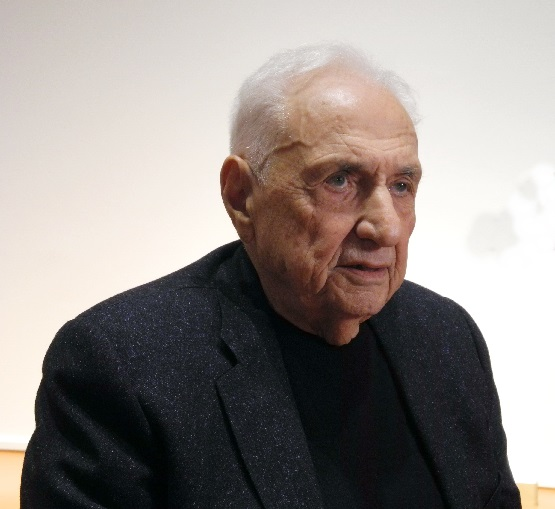 Frank Gehry am 03.03.2017, Foto Ursula Wiegand