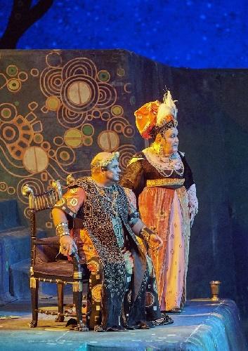 Jane Henschel als Herodias mit Gerhard Siegel, Foto Michael Pöhn