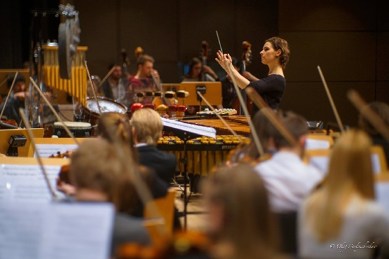 Lyniv mit Orchester