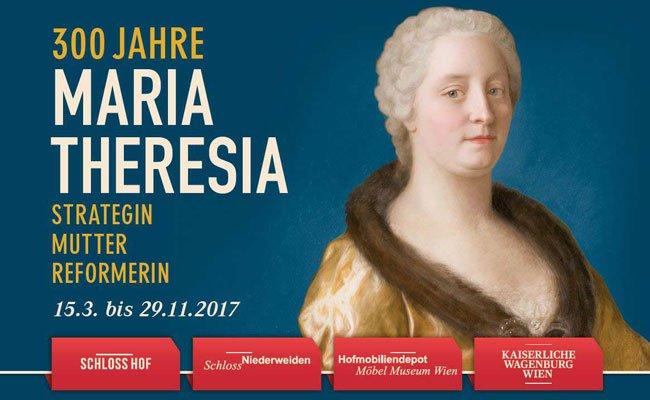 Maria Theresia Ausstellungsplakat