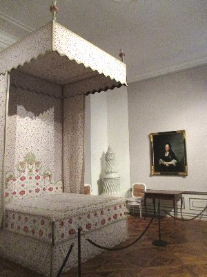 Maria Theresia Schlafzimmer in Schlosshof  x~1