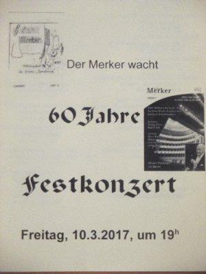 Merker Konzert  Porgramm Konzert