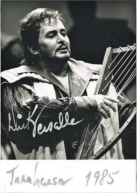 Richard Versalle als Tannhäuser in Bayreuth