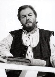 Robert Holl als Hans Sachs in Bayreuth