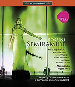 DVD Cover  Semiramide