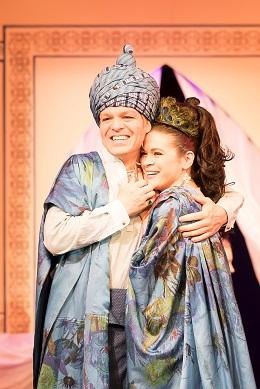 Sieglinde Feldhofer als Arabische Prinzessin mit