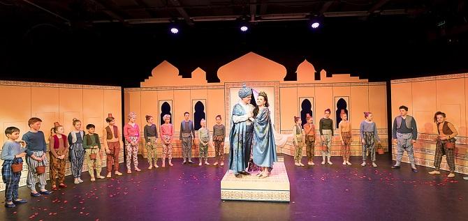 Arabische Märchenwelt für Kinder in Graz