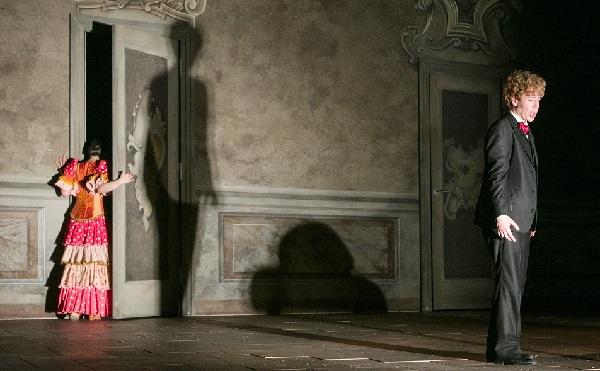 Premiere im Theater Aachen am 14. Mai 2017. Probenfoto. Ensemble.