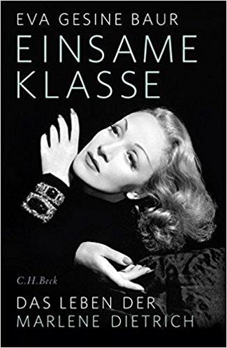 BuchCover Baur, Marlene Dietrich