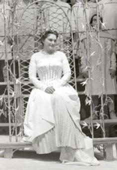 Lore WISSMANN als Eva in Bayreuth
