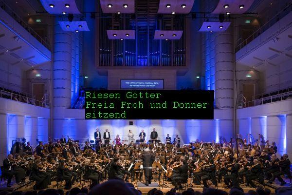 Konzerthaus Dortmund. Das Rheingold mit Dirigent Marek Janowski. © Pascal Amos Rest