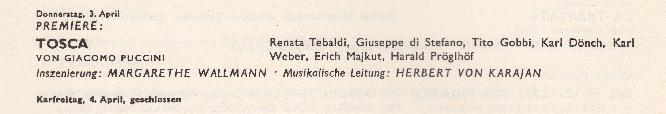 Wallmann Tosca 1958