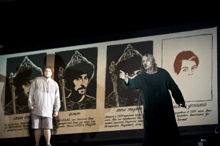 Boris Godunow, Robert Watson und Ante Jerkunica, Foto Bernd Uhlig