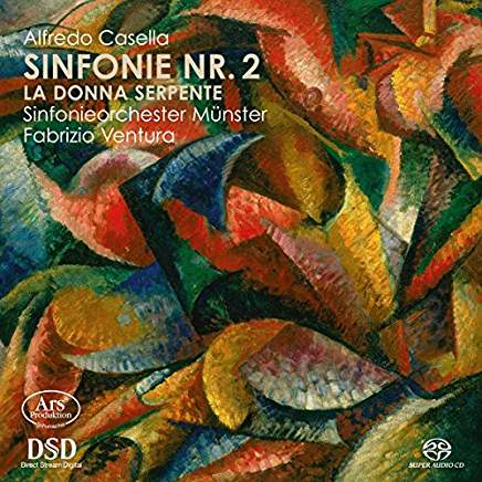 CD Cover Casella 2. Sinfonie