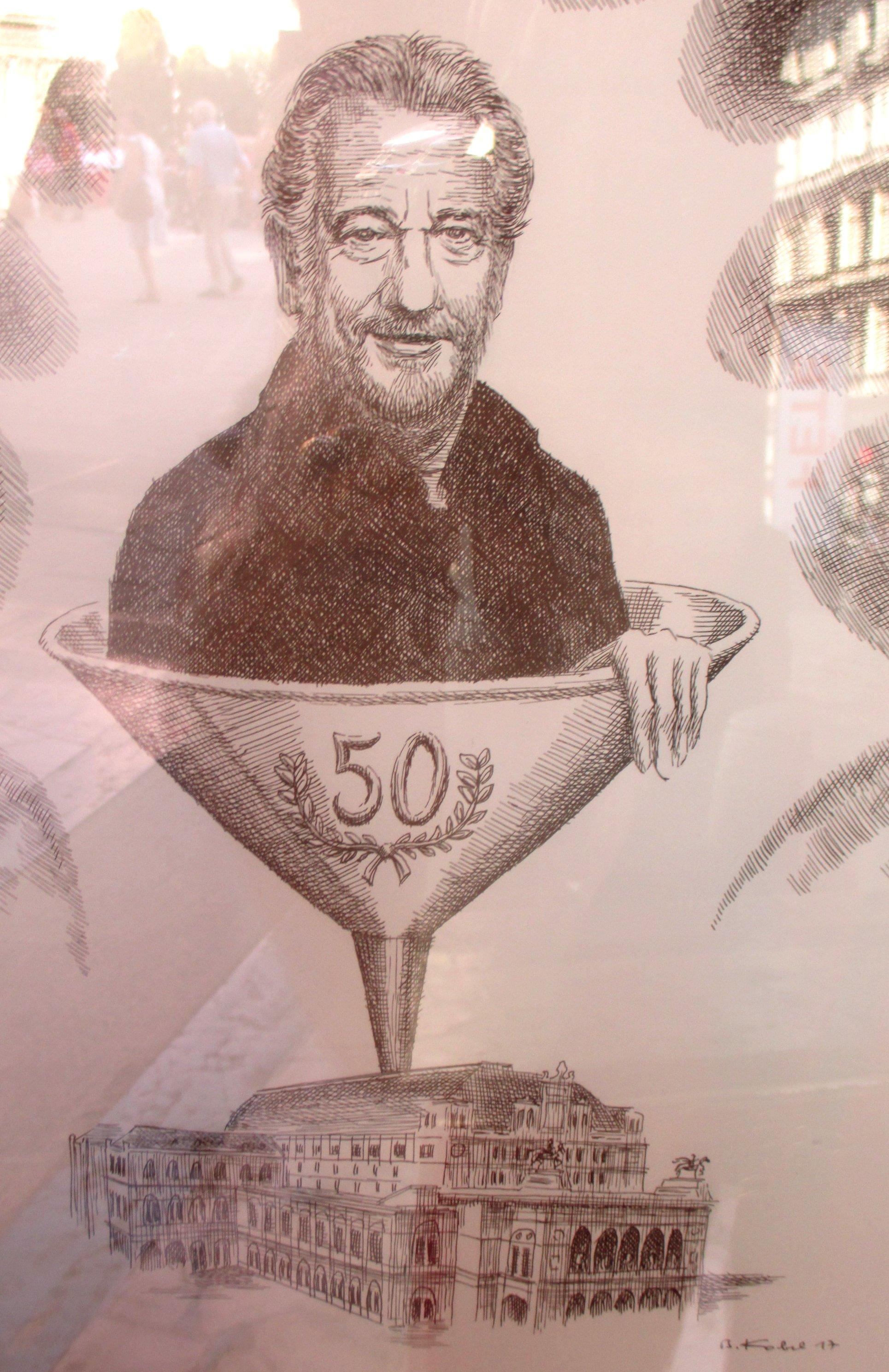 Don Carlo Zeichnung