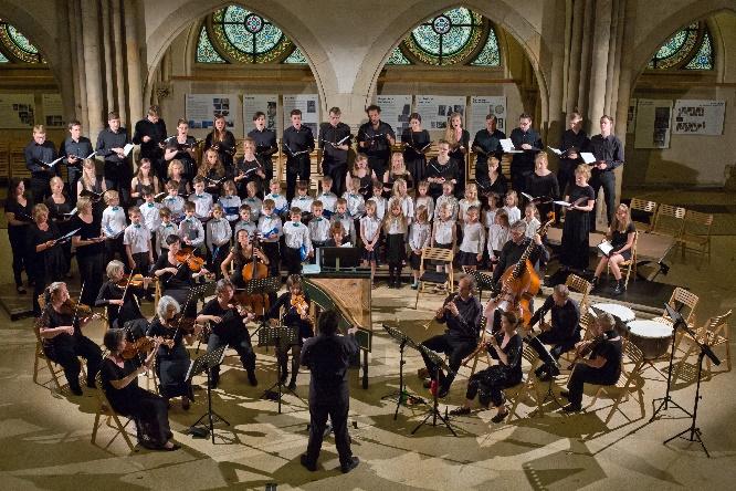 Echt Telemann, Peterskirche, Leitung Fabian Enders, Foto Bachfest Leipzig, Gert Mothes