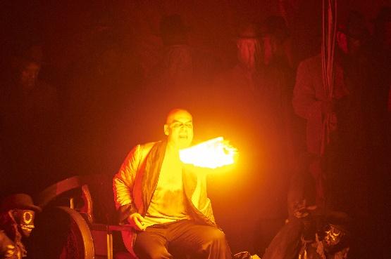 Faust, Florian Boesch als Méphistophélès, Foto Matthias Baus