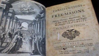 Freimauer  Buch Konstitution~1