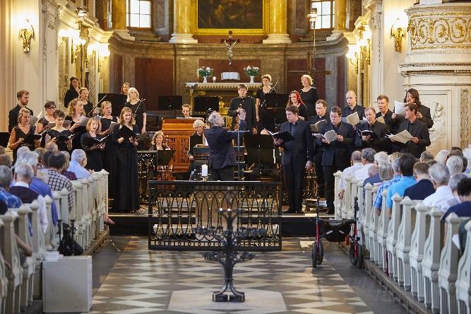 John Butt, Dunedin Consort + Solisten, Foto Bachfest Leipzig, www.malzkornfoto.de
