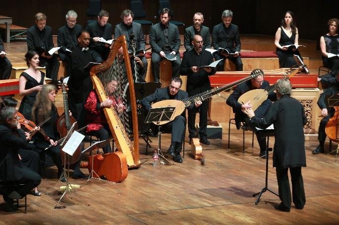 Monteverdi 450, L'Orfeo, Leitung Jordi Savall, Gewandhaus, Foto Bachfest Leipzig, Gert Mothes