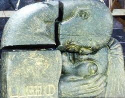 Eine Vorahnung von Klimts Kuss als Fund. Sammlung Britisches Museum
