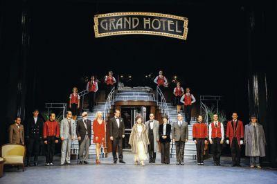 Grand Hotel Szene ganz