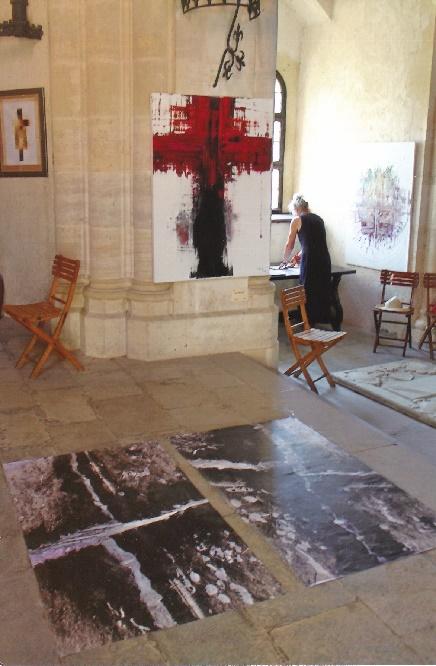 Hardegg 24. Juni 2017 Ausstellung Kreuze in der Burgkapelle 02