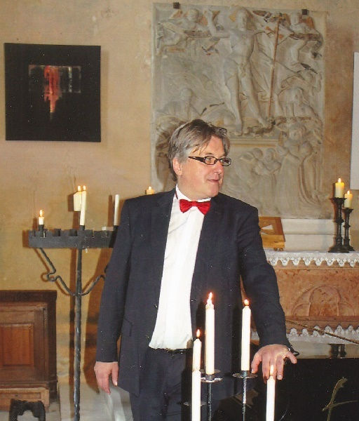 Hardegg 24. Juni 2017 Pianist & Kurator Robert Pobitschka