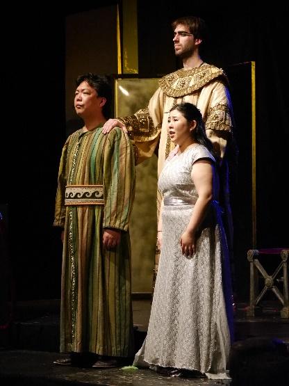 Sarastro, Pamina und Tamino