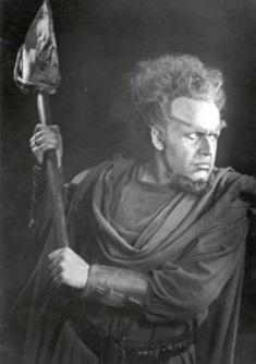Werner Faulhammer als Donner in Bayreuth