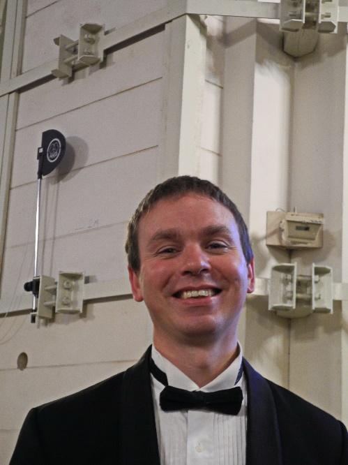1Valdis Butans, Chefdirigent vom Orchestra Riga, Foto Ursula Wiegand
